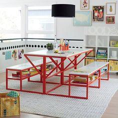 Creative workspace ideas: Modular New School Desk at Land of Nod