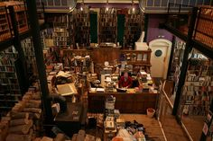 """Bibliophilia on Twitter: """"Bookshop in Inverness (Scotland), founded in 1979 in a former church.  Max Stroh https://t.co/XT8rMF8I0J"""""""