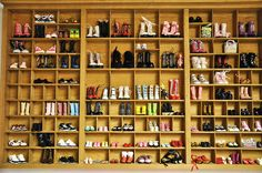 i had 13 shadow boxes at one point. i collected tons if miniatures, but not barbie shoes!