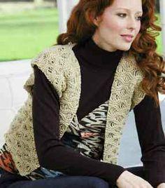 Free knitting pattern - Lauryn Waistcoat by Lisa Richardson in Rowan All Seasons Cotton: http://www.mcadirect.com/shop/rowan-all-seasons-cotton-p-35.html