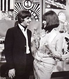 Cathy McGowan interviewing Ringo on Ready Steady Go 1964