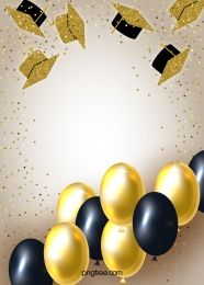 Golden Balloon Realistic Style Atmospheric Happy Birthday Background Birthday Background Balloon Background Balloons
