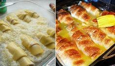 Fenomenální rohlíčky s jablkem, zapečené v máslově omáčce se SPRITEm | NejRecept.cz
