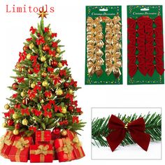 Good Price of Pretty Bow Christmas Tree Ornaments Christmas Pendant Christmas Decorations for Home New Year Navidad Kerst Decor Supplies Christmas Tree Prices, Silver Christmas Tree, Cheap Christmas, Christmas Ribbon, Christmas Baubles, Merry Christmas, Mexican Christmas, Christmas Gifts, Holiday Gifts