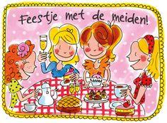 Feestje met de meiden! - Blond Amsterdam
