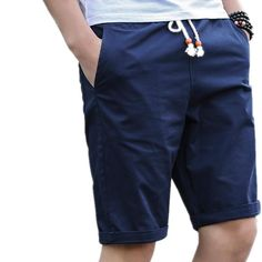 56cec99dbae842 M-5XL Summer Cotton Shorts Men Fashion Brand Boardshorts Breathable Male  Casual Shorts Comfortable Plus