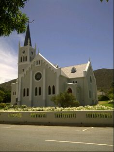 See 5 photos and 1 tip from 153 visitors to Barrydale. Toledo Cathedral, Cathedral Church, Cape Dutch, Church Architecture, Church Building, Mosques, All Over The World, Cry, Landscape Photography