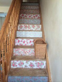 My shabby chic stairs