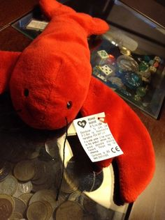Conquering the world back in the 1990s, the Beanie Babies didn't have to try hard to captivate the hearts no... -  Punchers the Lobster Beanie Baby2 . Discover More at: http://www.topteny.com/top-10-rarest-beanie-babies-world/