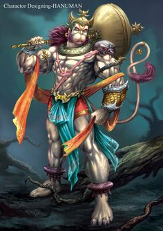 .Hanuman....the original superhero!