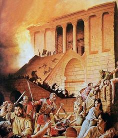 """Roman conquest and destruction of Jerusalem, 70 AD"""