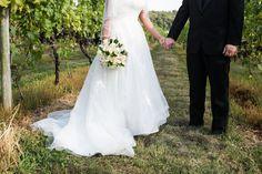 Pretty Pastel Vineyard Wedding  Photographer:  Living Radiant Photography
