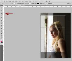 crop tool 600x508 Understanding Cropping vs Resizing in Photography