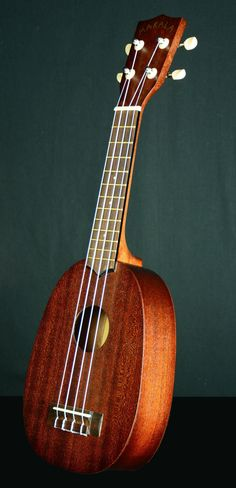 KALA UKULELE (New) Model: MK – P Pineapple Soprano - Great First Ukulele Makala Series #KalaUkulele