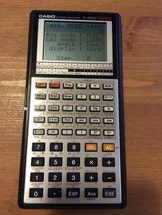 Vintage Casio Calculator..FX-7000g Scientific Calculator, A Classic #Casio