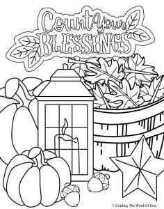 Thanksgiving Coloring Page 5 Pages Are A Great Way To End