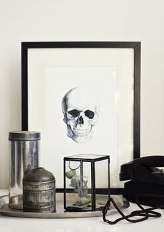 black/white/silver collection