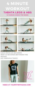 tabata legs and abs for women
