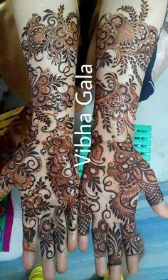 Latest Simple Arabic Mehndi Designs 2017 For Eid 7 | FashionGlint