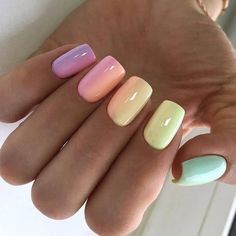 On average, the finger nails grow from 3 to millimeters per month. If it is difficult to change their growth rate, however, it is possible to cheat on their appearance and length through false nails. Feet Nails, My Nails, Hair And Nails, Best Acrylic Nails, Acrylic Nail Designs, Stylish Nails, Trendy Nails, Unicorn Nails Designs, Instagram Nails