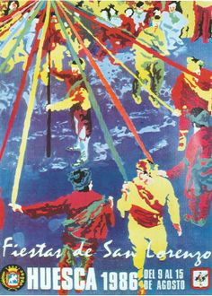 Fiestas de San Lorenzo, año 1986