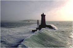 Lighthouses of Iroise. Phare de la Vieille - Pointe du Raz, Brittany