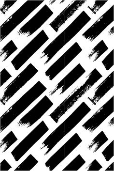 A collection of hand drawn patterns with lines and brush strokes by Type and…