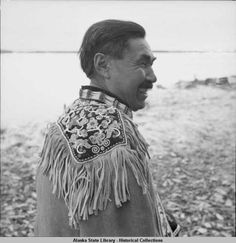 Ft. Yukon Native village. 4/1941. :: Alaska State Library-Historical Collections