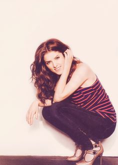 Love Anna Kendrick! She is beautiful, talented, funny, and seems to have this don't care what you think/don't take things too seriously attitude.