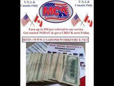 Motor Club of America Earn Up To $90 Per Signup - Double Commissions -  Make Money Online  http://www.usahomeworkforce.net
