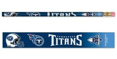 Tennessee Titans Pencil 6 Pack
