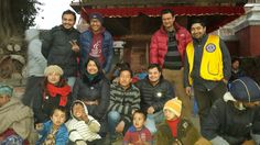 District 325B1 #LionsClubs (Nepal) had 10 clubs work together to provide a meal for 250 children