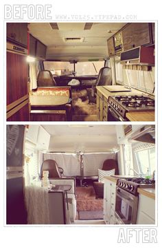 Motorhome before and after...awesome