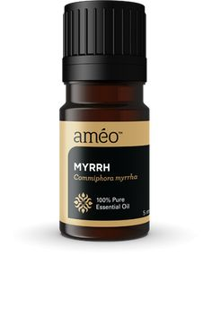 """Améo Myrrh Essential Oil can be used to help maintain oral health, normal blood circulation, and normal digestive function. Being a powerful antioxidant, it is commonly used to assist in dry skin relief, stimulating hair growth and promoting normal intestinal function. Myrrh is a reputable essential oil to aromatherapy enthusiasts, especially around the holidays, due to its comforting and uplifting scent. For more """"Single"""" Oils visit CellActiveOils.com"""