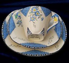 Burleigh ware cup set
