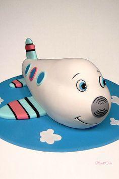 Henry the Aeroplane Cake!