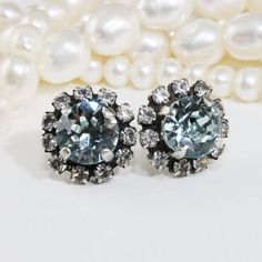 Ice Blue Studs Something Blue Light Azore Blue Post by TIMATIBO