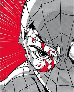 Spider-Man art by Adam Limbert Comic Book Characters, Comic Character, Comic Books Art, Comic Art, Book Art, Marvel Comics, Marvel Art, Marvel Heroes, Spiderman Art