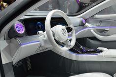 Inside the Mercedes Concept IAA