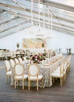 Venue, Miller's Nurseries; Flowers, Arena's; Planner, Simply Beautiful Events; Photo: Lacie Hansen Photography - New York Wedding http://caratsandcake.com/LaurenandJames