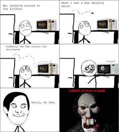 Rage Comics :) Me, herping around the kitchen