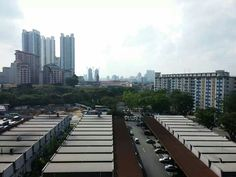 Top view from blk 22 Sin Ming Road Singapore