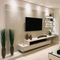 29 Inspiring TV Wall Panel Design Ideas You Must Have - The living room is one of the rooms in the house where we spend the most time. It& the place to rest on the couch, watch a movie with family and frie. Tv Wall Panel, Wall Panel Design, Tv Wall Design, Tv Cabinet Design Modern, Ceiling Design, Tv Unit Decor, Tv Wall Decor, Home Living Room, Living Room Decor