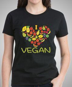 Peace Love Veggies T-Shirt Funny Vegan Veganism Vegetarian Vintage Men Gift Tee
