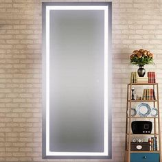 Hollywood Full Length Mirror with lights 2 sides ...