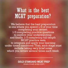 Best #MCAT preparation. For more advice, visit https://www.mcat-prep.com/mcat-preparation-advice/