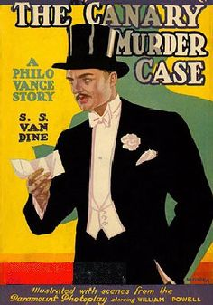 Hard Boiled Books: Detective Philo Vance in The Canary Murder Case  1...