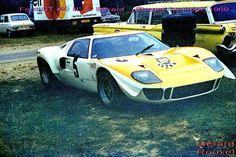 1000 km paris 1969 | Les Ford GT40 sur l'Autodrome