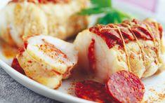 Mini rôti de lotte au chorizo , Retrouvez des recettes gourmandes et légères avec Daylice de Bridélice : trouvez l'inspiration pour vous simplifier le quotidien !