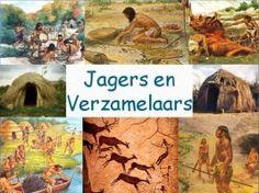 Grotschilderingen o.a. Leuke en informatieve powerpoint over Jagers en Verzamelaars voor 5, deze en nog vele andere kun je downloaden op de website van Juf Milou.